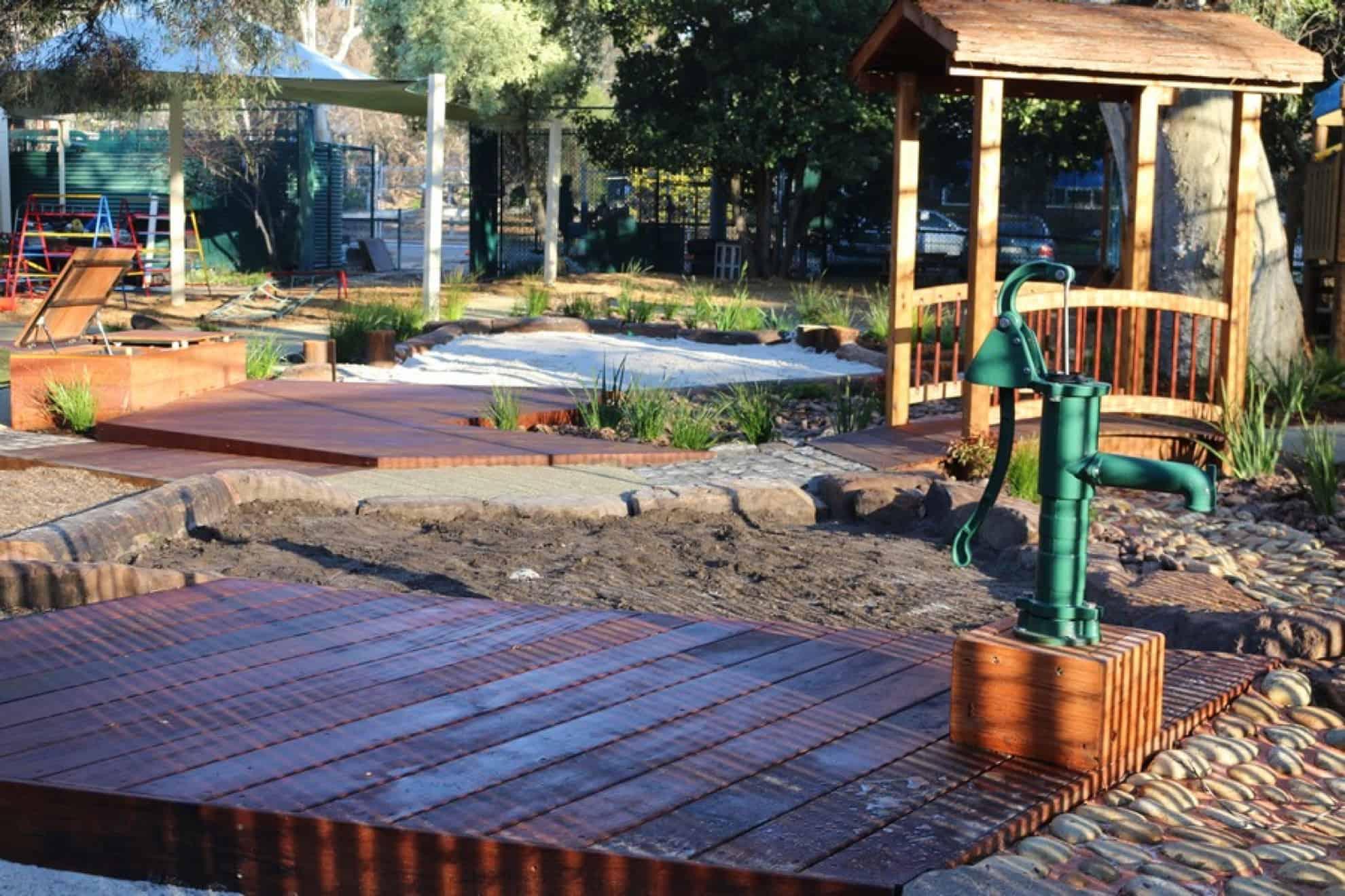 landscape design playground melbourne