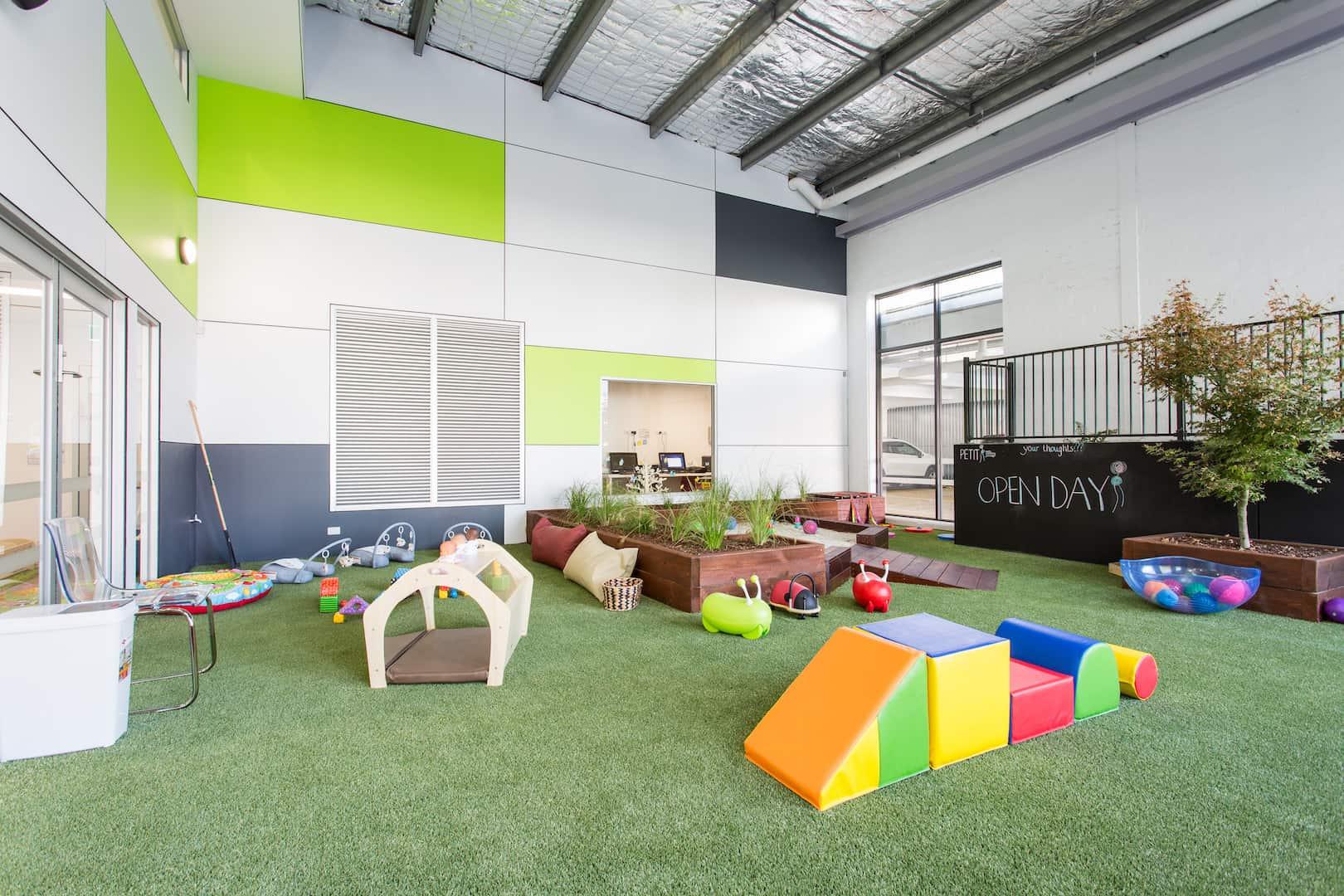 Child care indoor playground