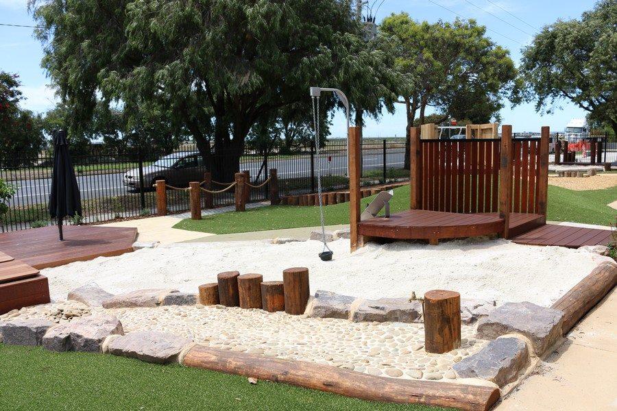 Child care design Melbourne sand pit