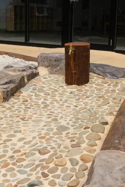 Child care design Melbourne dry creek bed