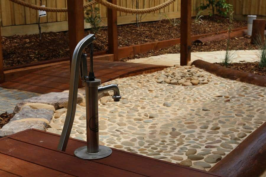 Child care design Melbourne water play