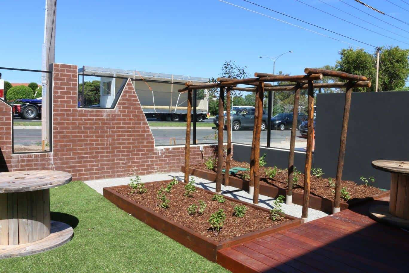 early learning centre play area melbourne sensory garden