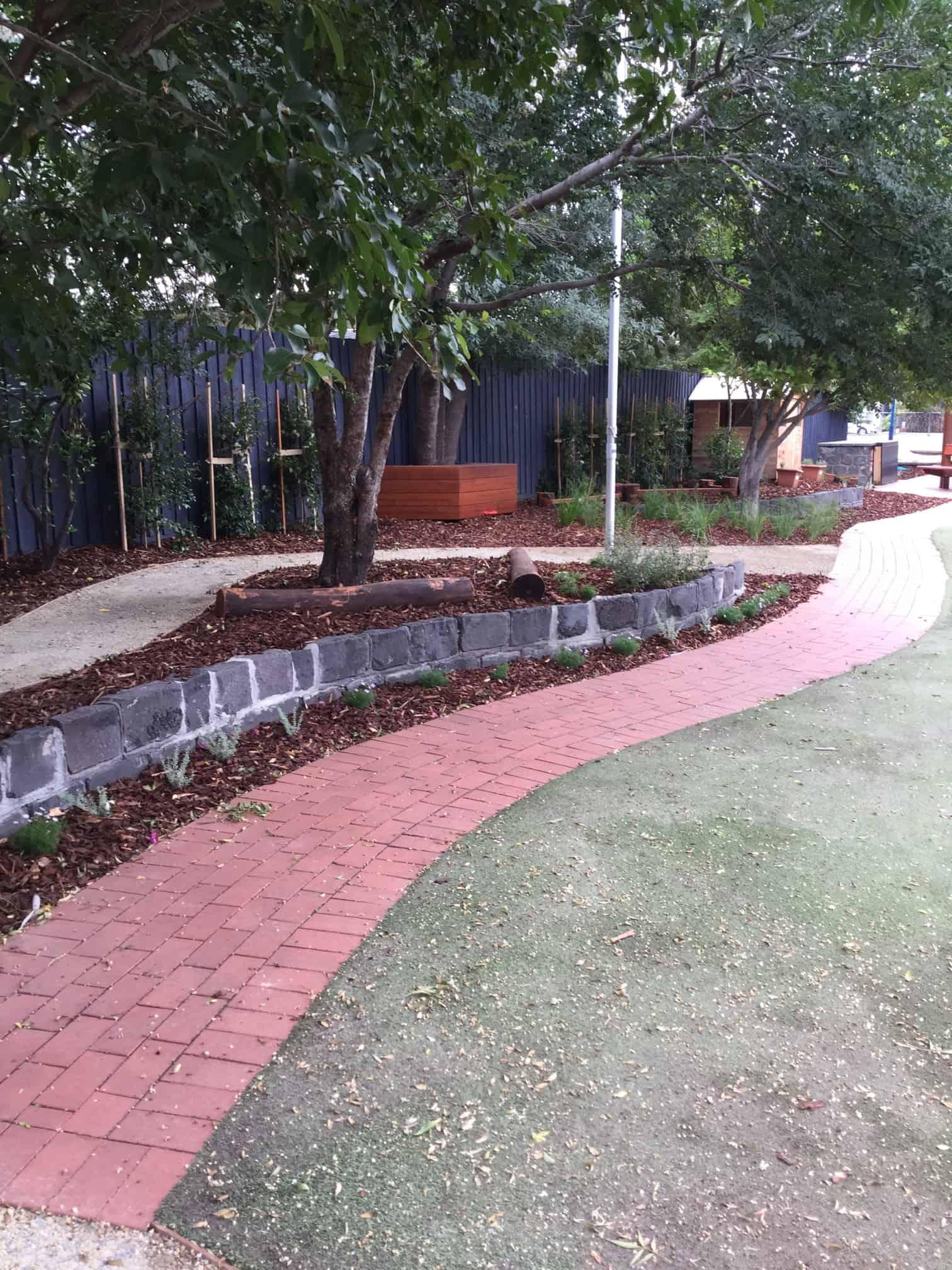 Primary School natural play area Australia
