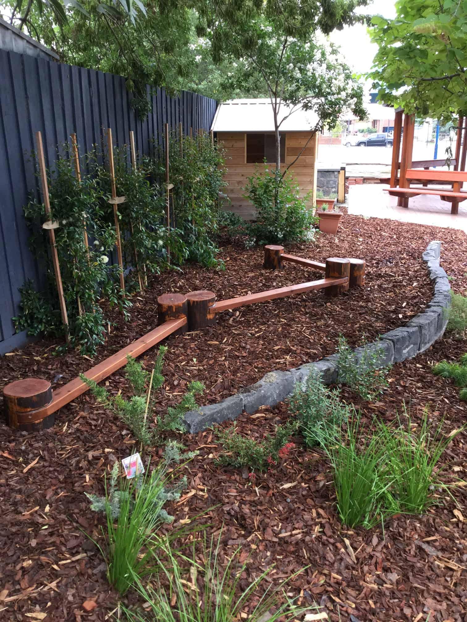 Primary School natural play area Victoria
