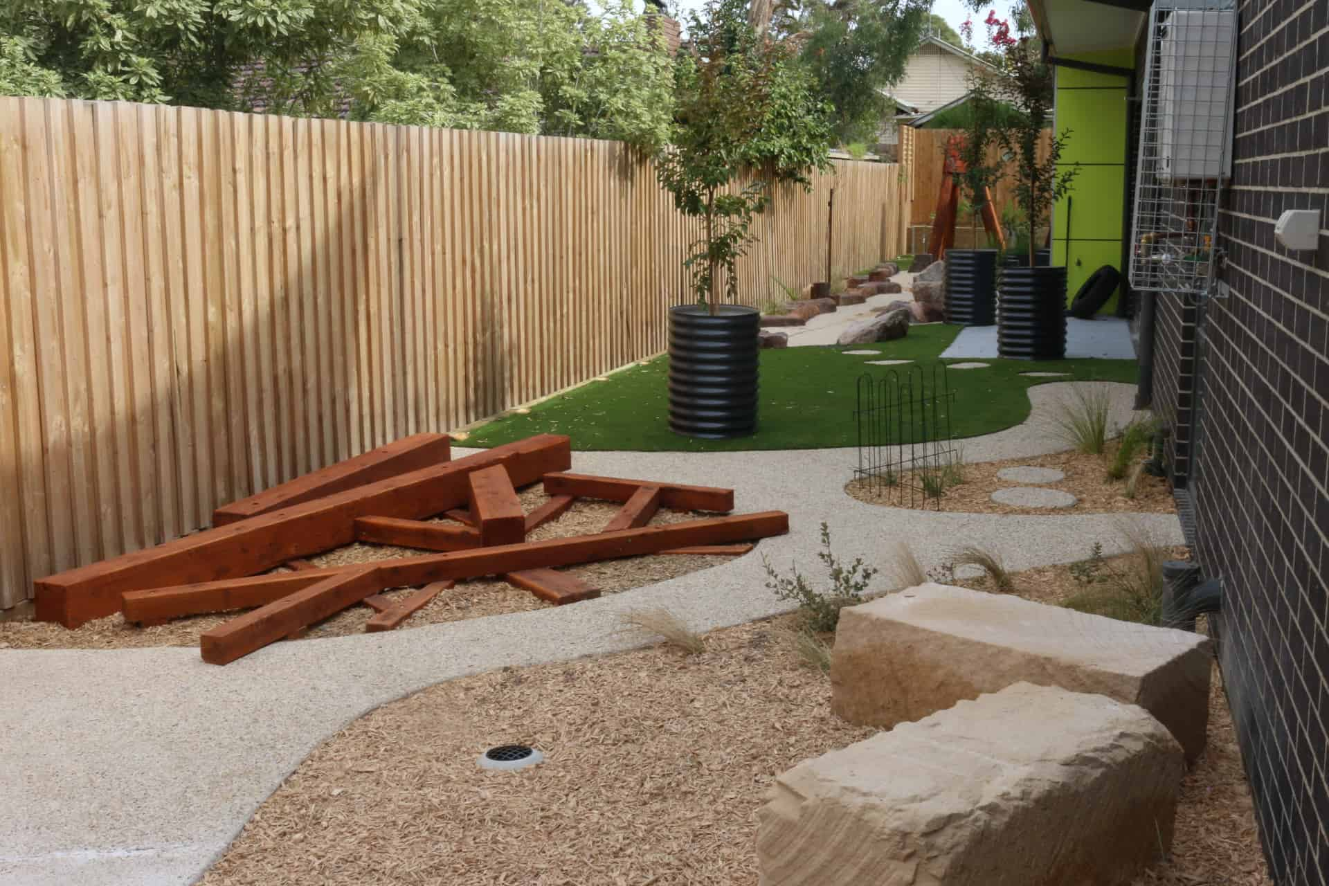 Childcare playground construction Victoria