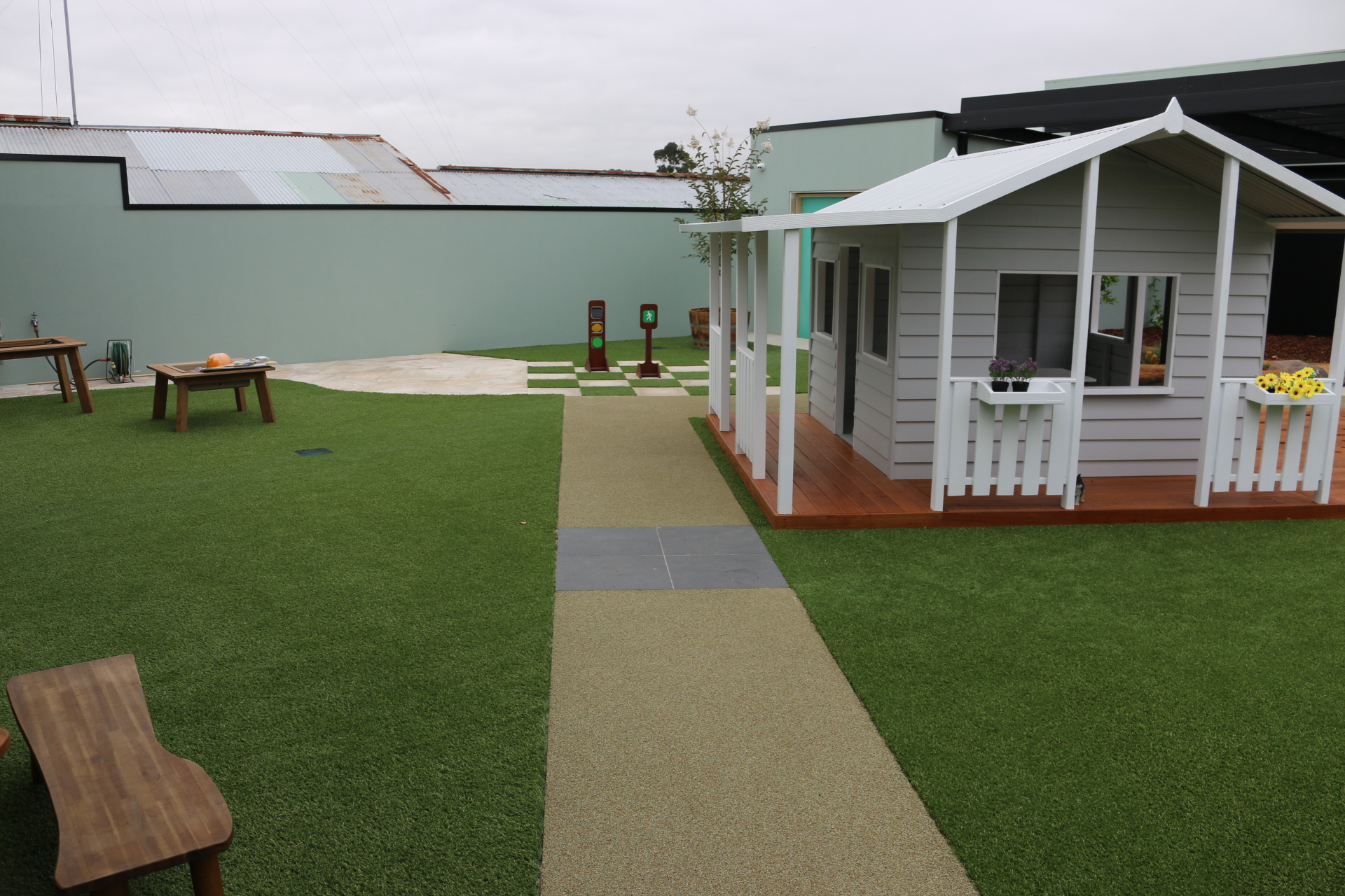 child care centre playgrounds Melbourne
