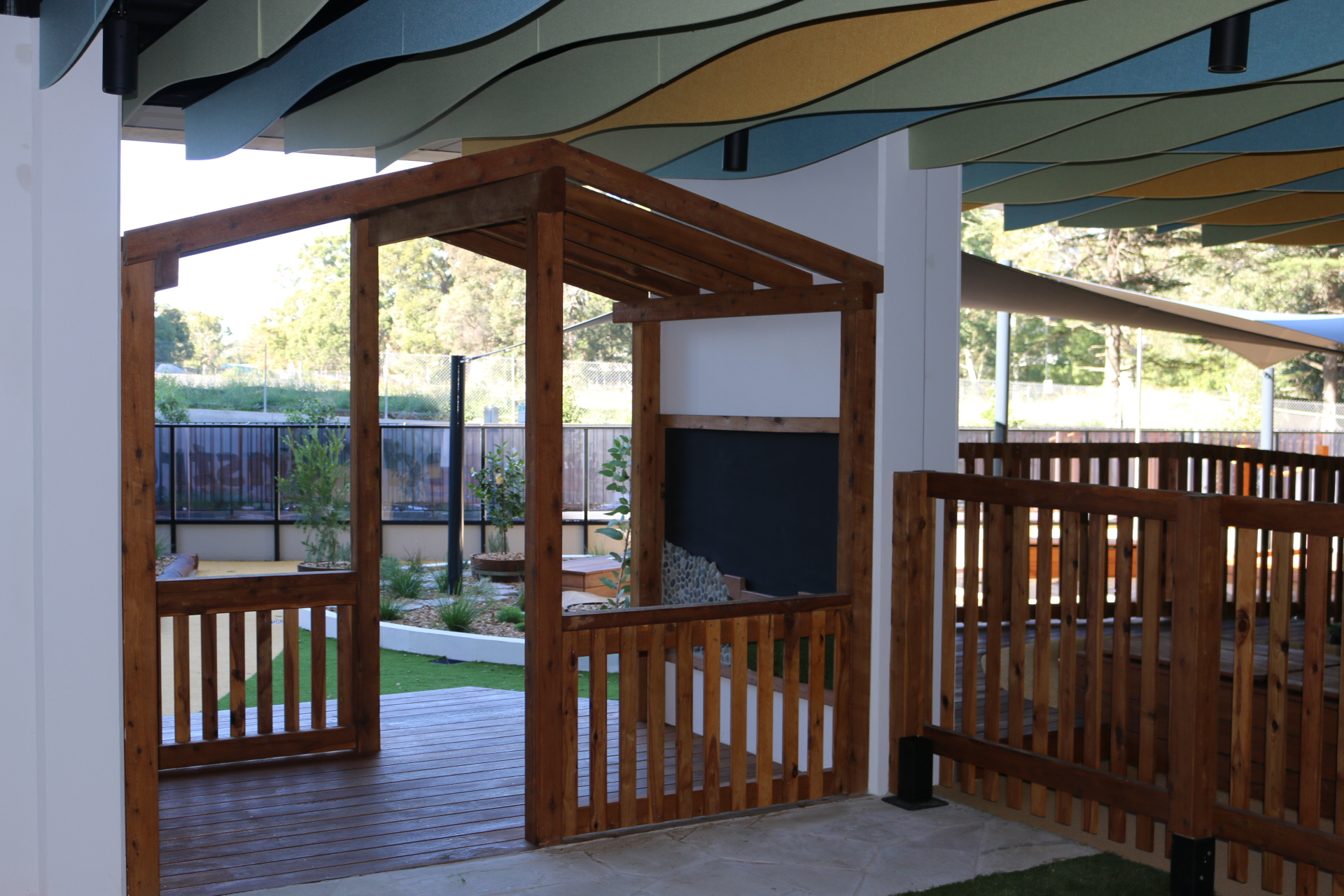 natural play spaces in childcare new south wales