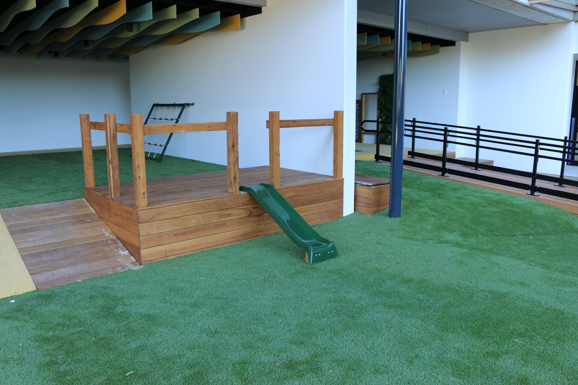 natural play spaces in childcare