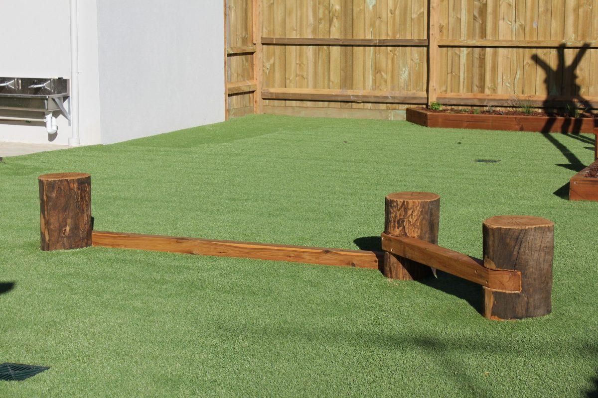 playground sunshine childcare victoria balance beam