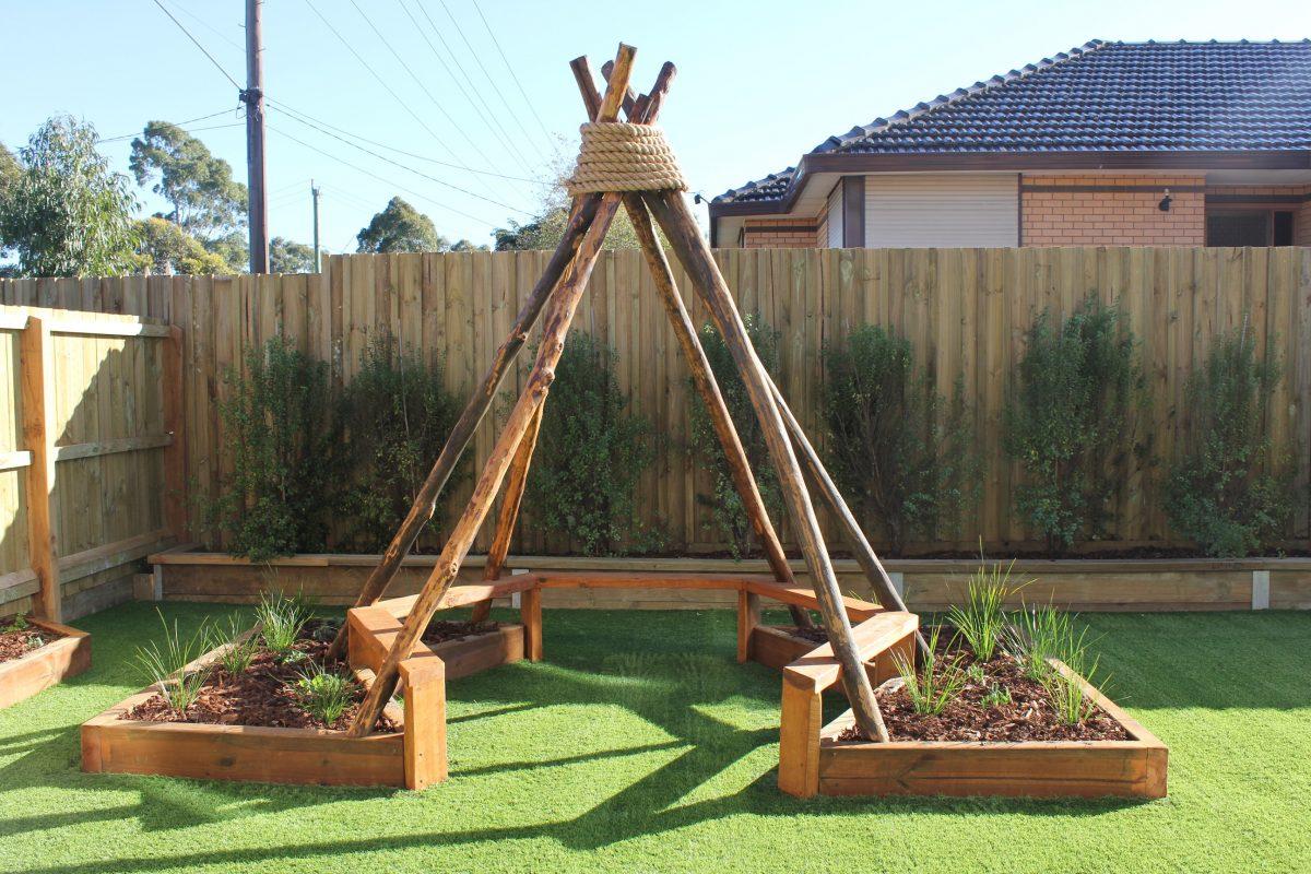 playground sunshine childcare victoria teepee