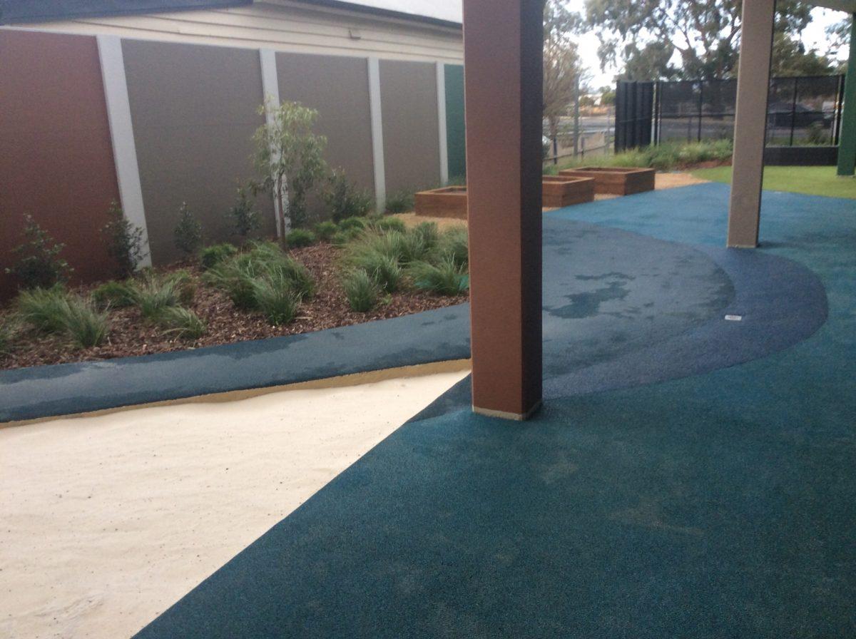 open playground grass