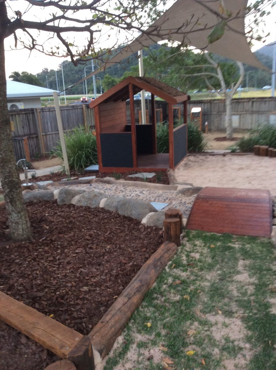 child care playground Queensland cubby house
