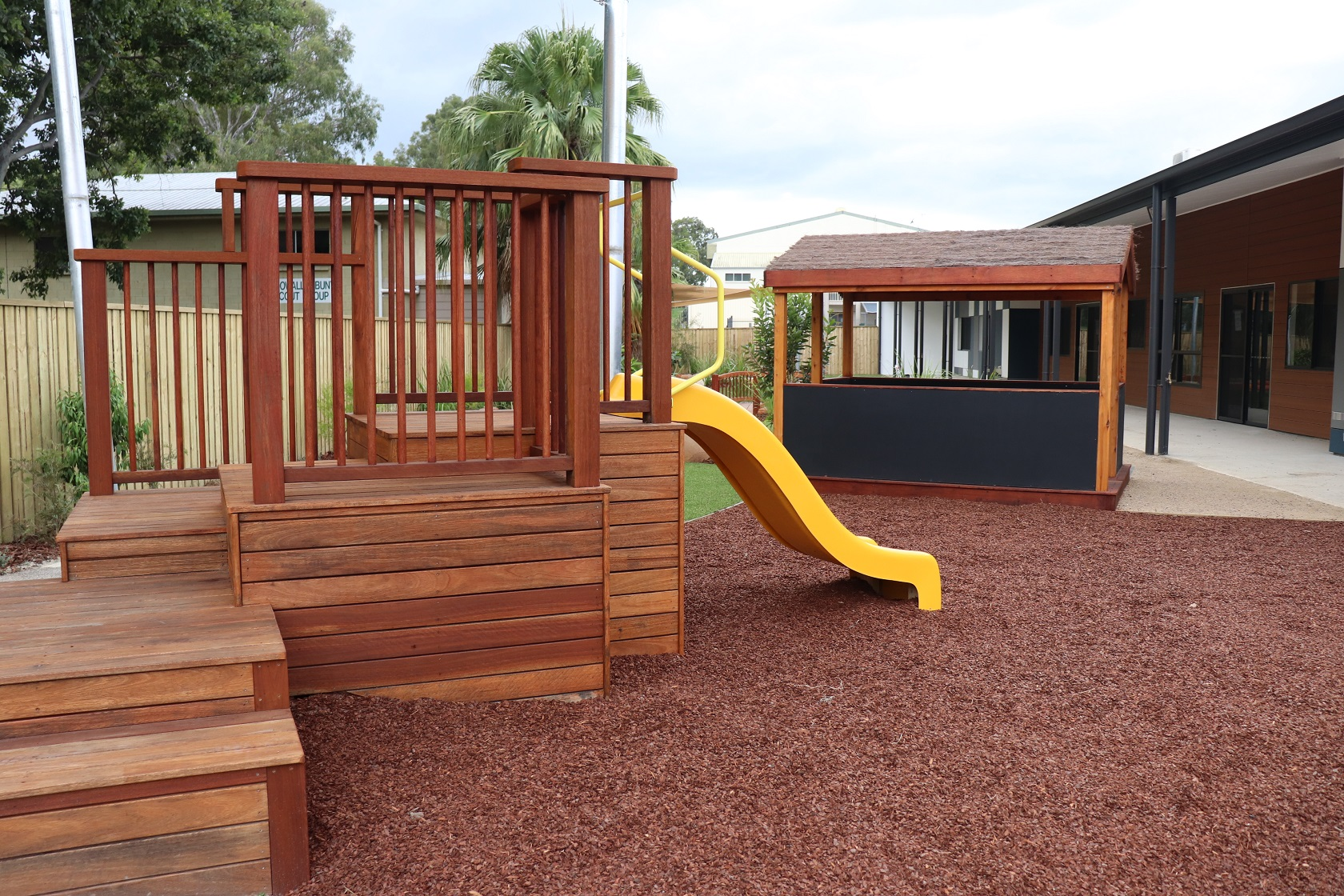 Multi deck mound platform - Everton hills