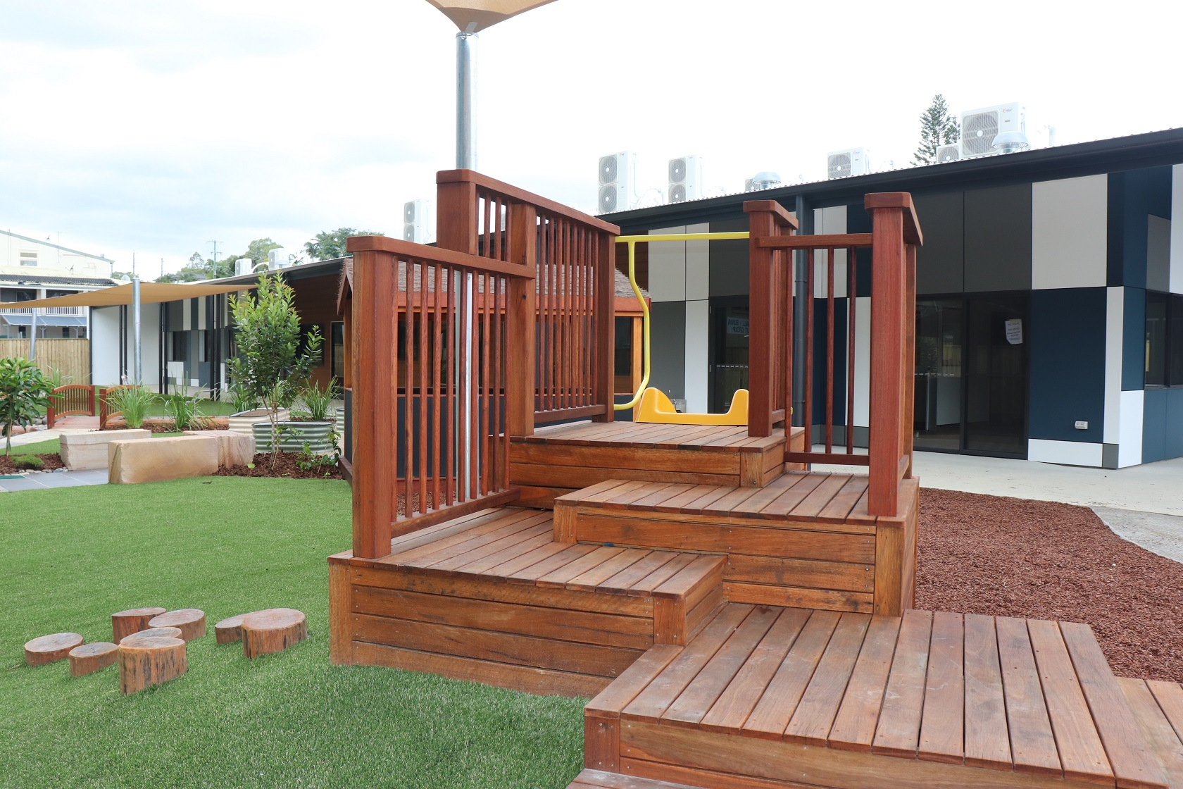 Multi deck platform mound - Everton hills