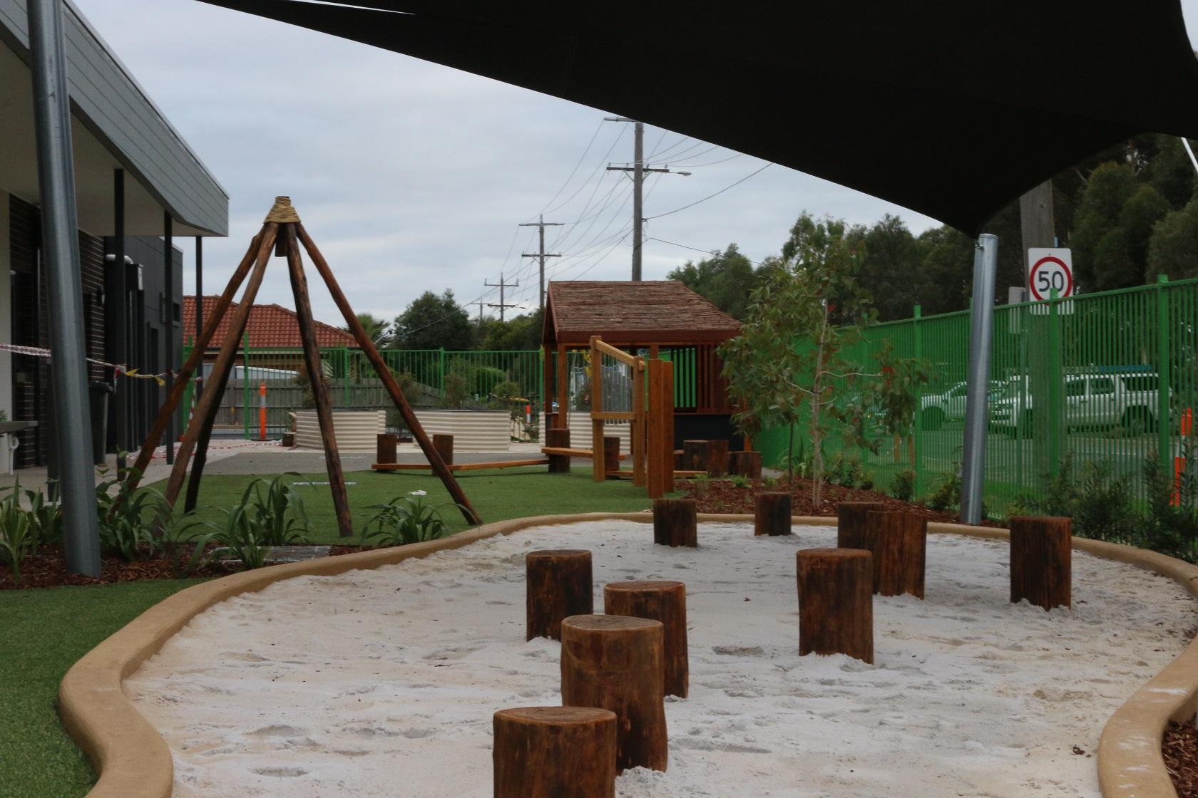 Sandpit logs - wyndham vale