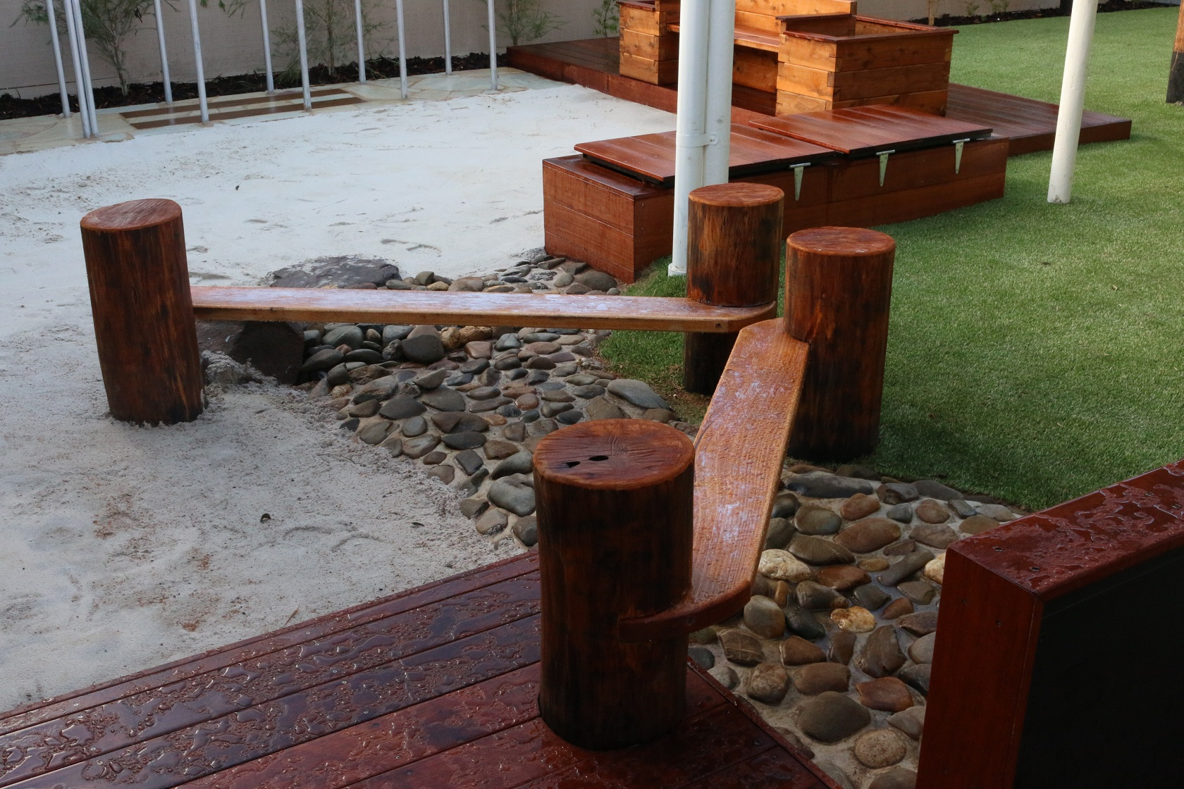 balance beams - braybrook