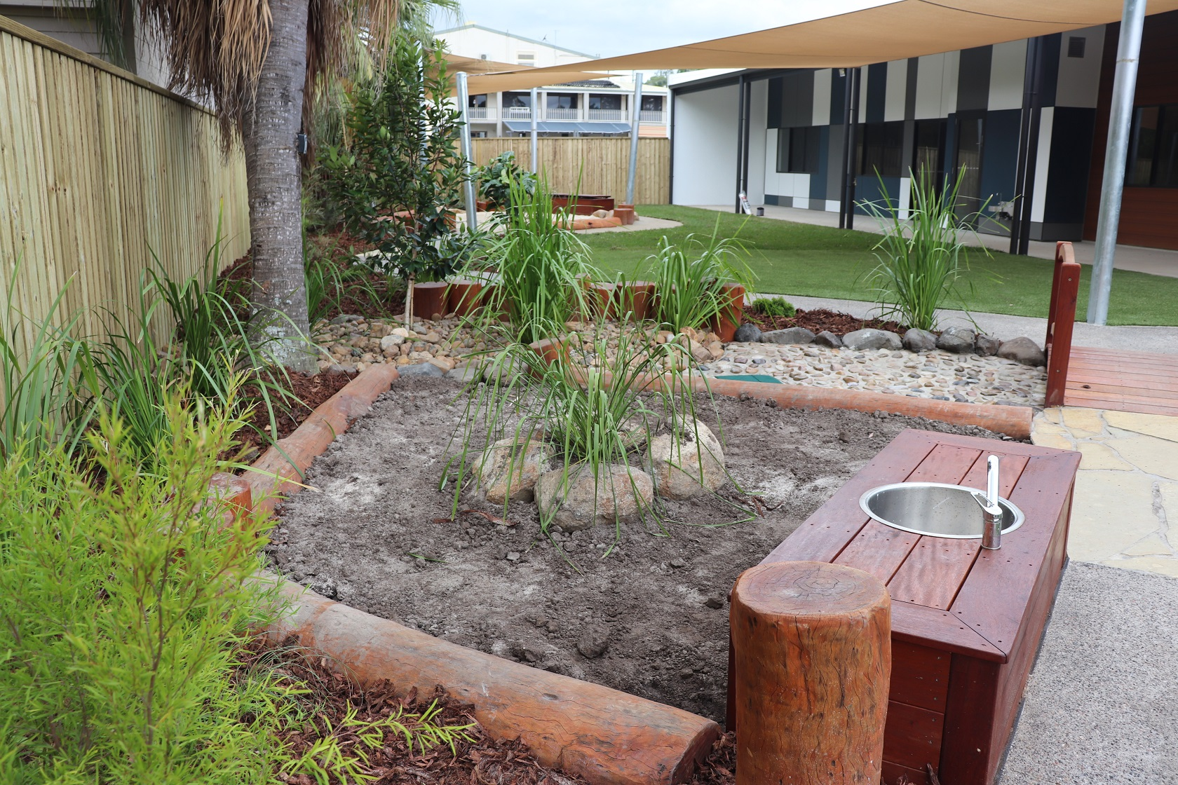 mud patch with island - everton hills