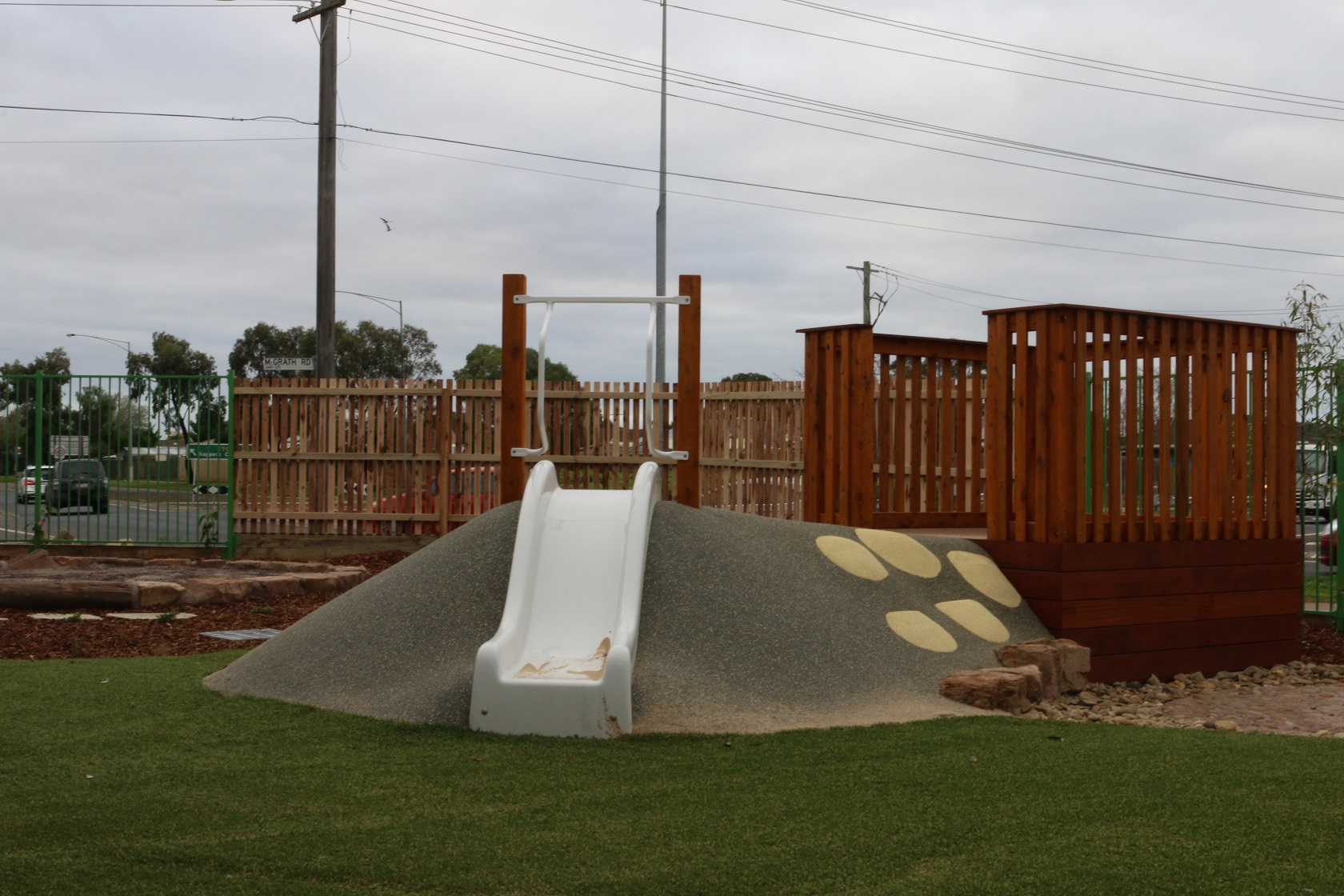 slide and mound - wyndham vale