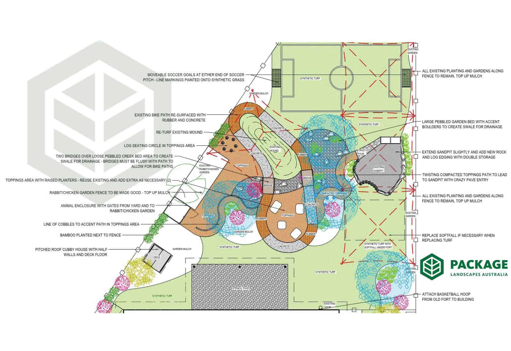 childcare centre Cranbourne - design plan