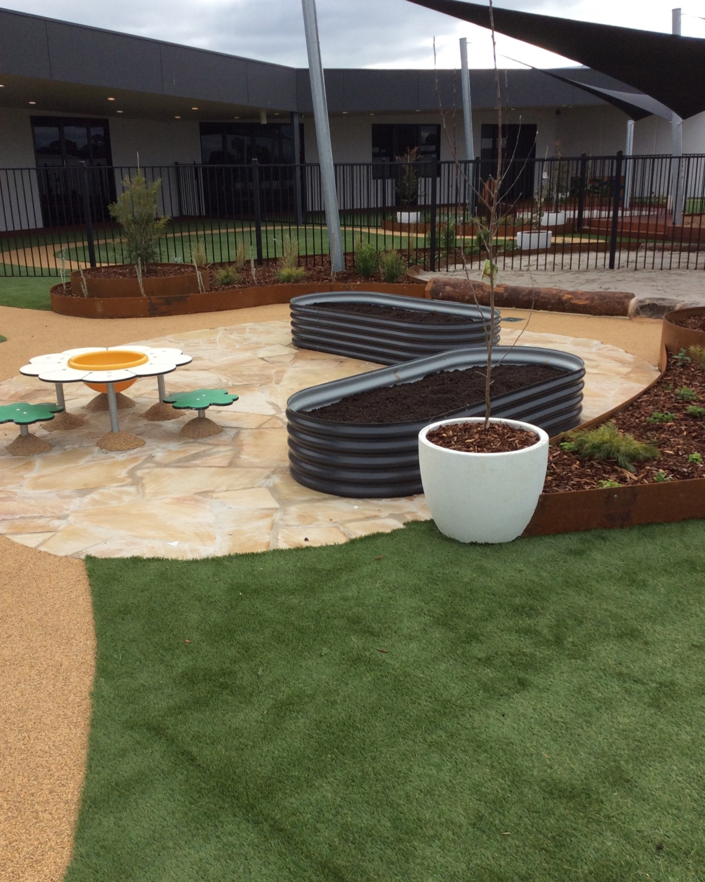 produce area vege coolaroo childcare rooftop