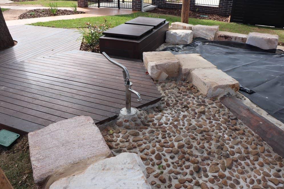 Natural playground design Queensland