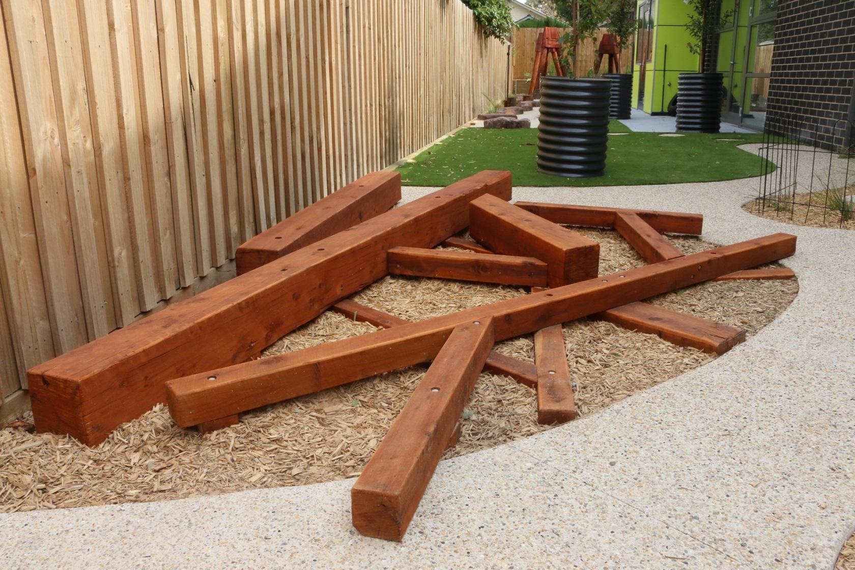 Balancing timber - blackburn