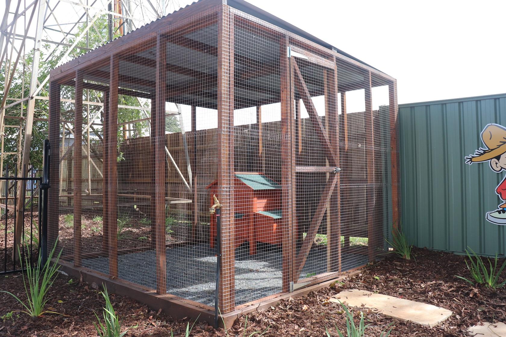 animal enclosure - margaret st