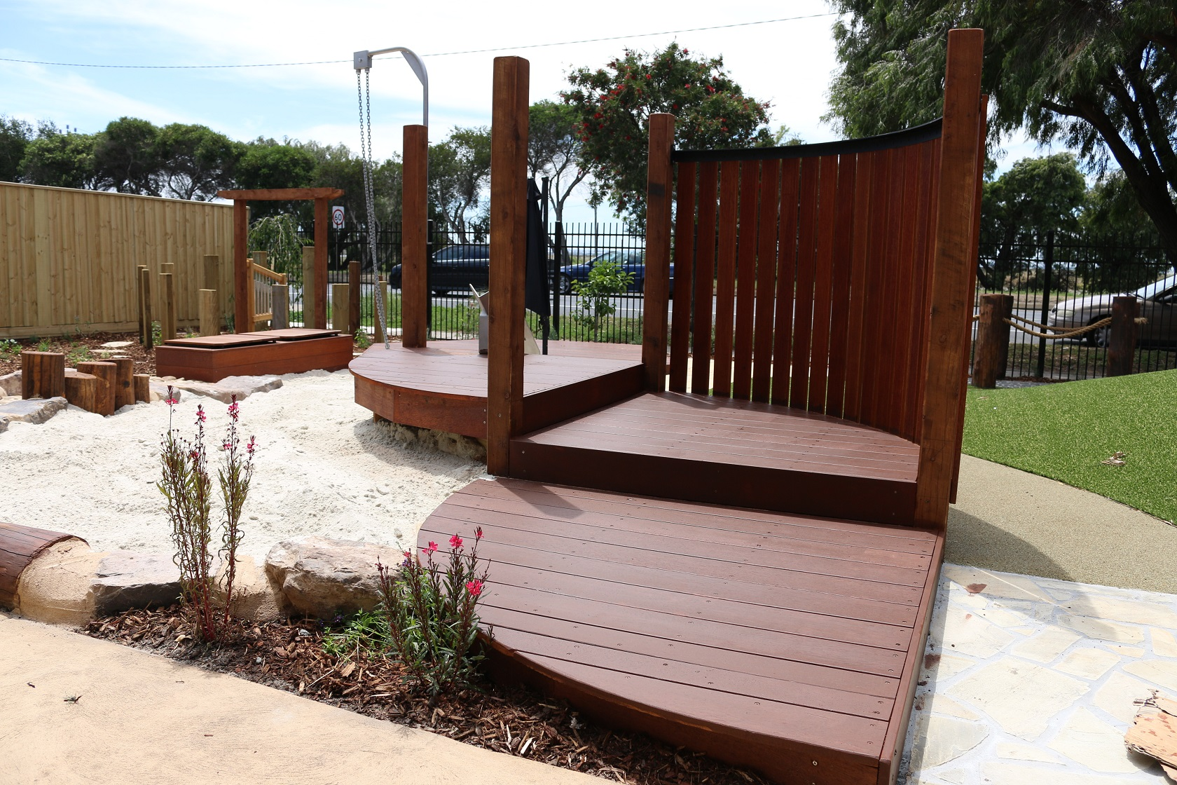 sandplay platform - greensborough