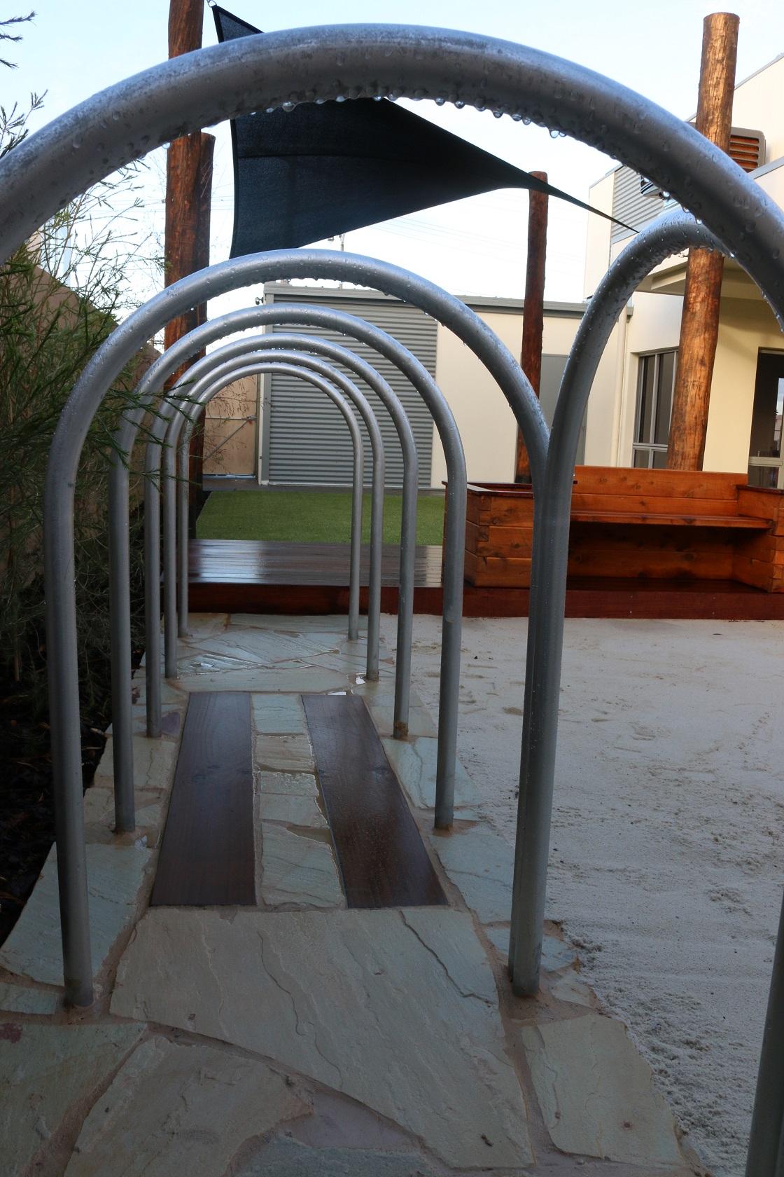steel arches - braybrook
